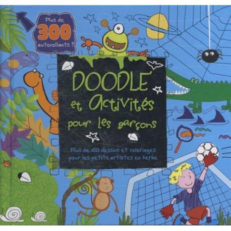 Doodle et activités pour les garçons - Voitures et trains
