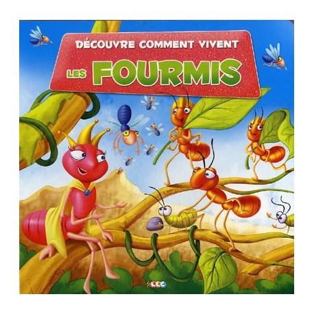 Jeunesse d couvre comment vivent les fourmis ean13 - Comment repousser les fourmis ...