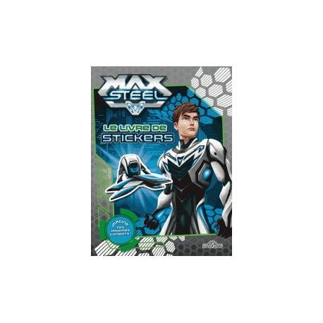 Le livre de stickers Max Steel