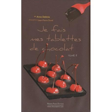 Je fais mes tablettes de chocolat - Tome 2, Coffret : Livre + un moule