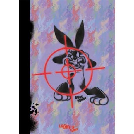 Carnet - Bugs Bunny graffity - Toucher peau de pêche