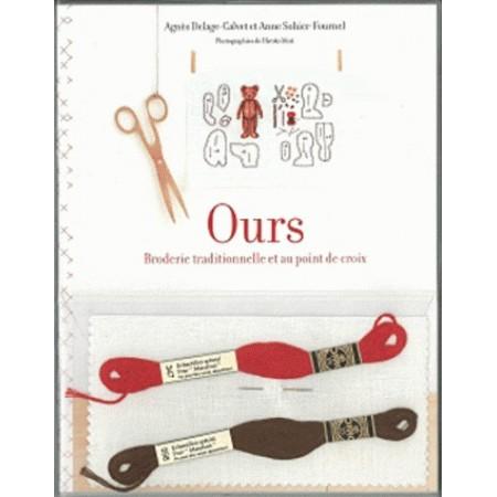 Ours - Broderie traditionnelle et au point de croix