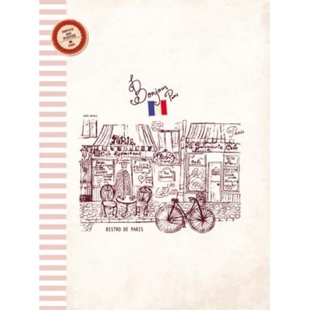 Cahier - Bonjour Paris - Bistro de Paris