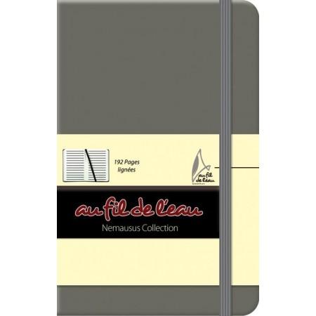 Carnet de notes - 9x14 - souple - gris