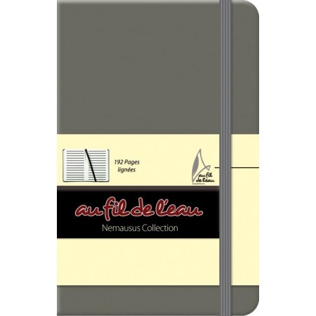 Carnet de notes - 9x14 - rigide - gris