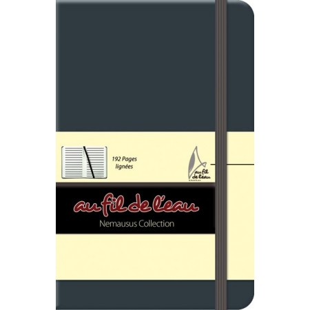 Carnet de notes - 9x14 - rigide - anthracite