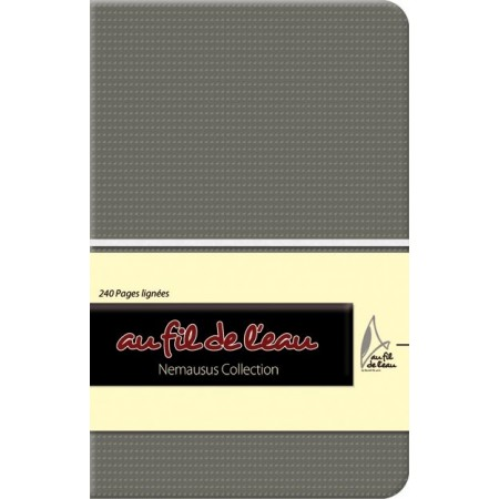 Carnet de notes - 9x14 - souple - gris