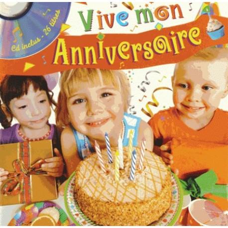 Vive mon anniversaire avec 1 CD audio