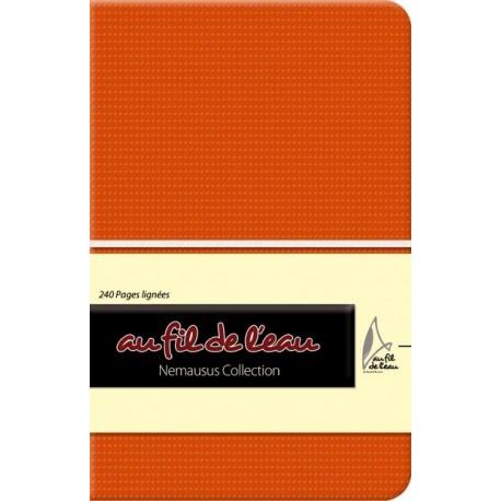 Carnet de notes - 9x14 - souple - orange