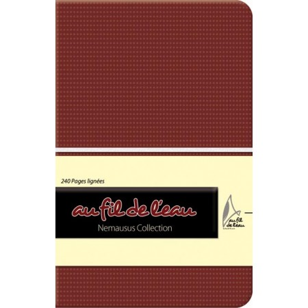 Carnet de notes - 9x14 - souple - marron