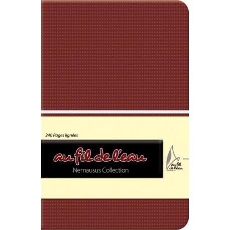 Carnet de notes - 9x14 - souple - bordeaux