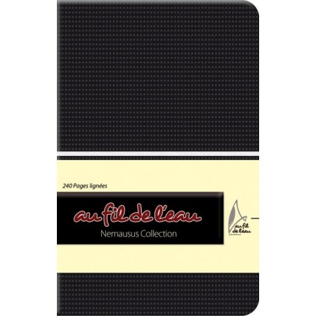 Carnet de notes - 9x14 - souple - noir