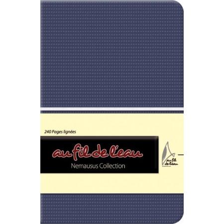 Carnet de notes - 9x14 - souple - bleu