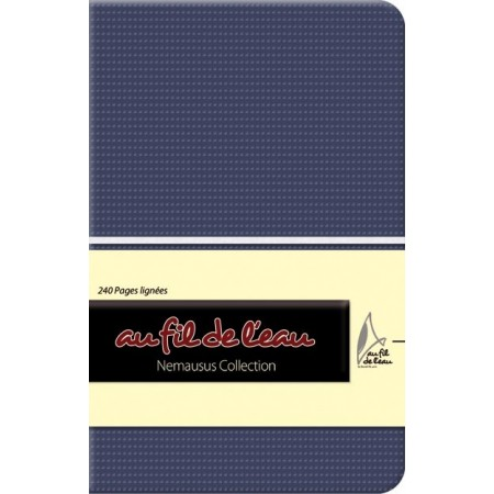 Carnet de notes - 9x14 - souple - bleu