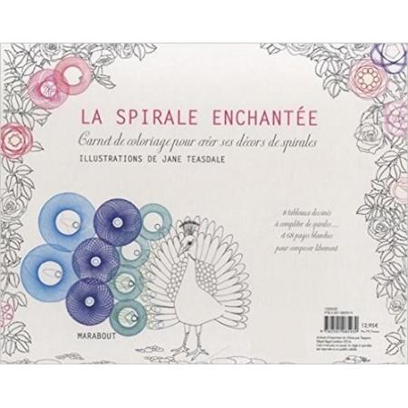 Cahier d'inspiration et de technique de spirales - Avec une règle à spirales