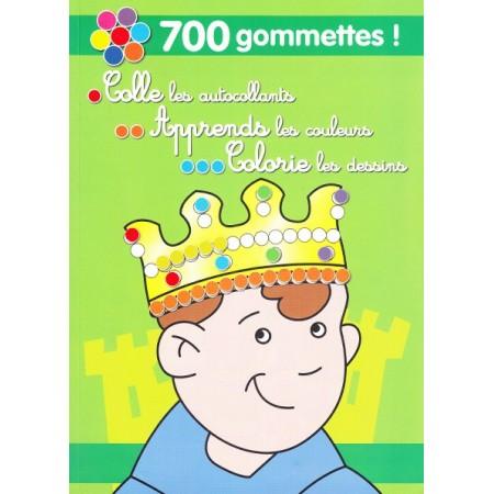 700 Gommettes ! (vert)