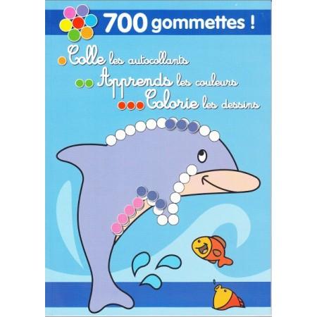 700 Gommettes ! (bleu)
