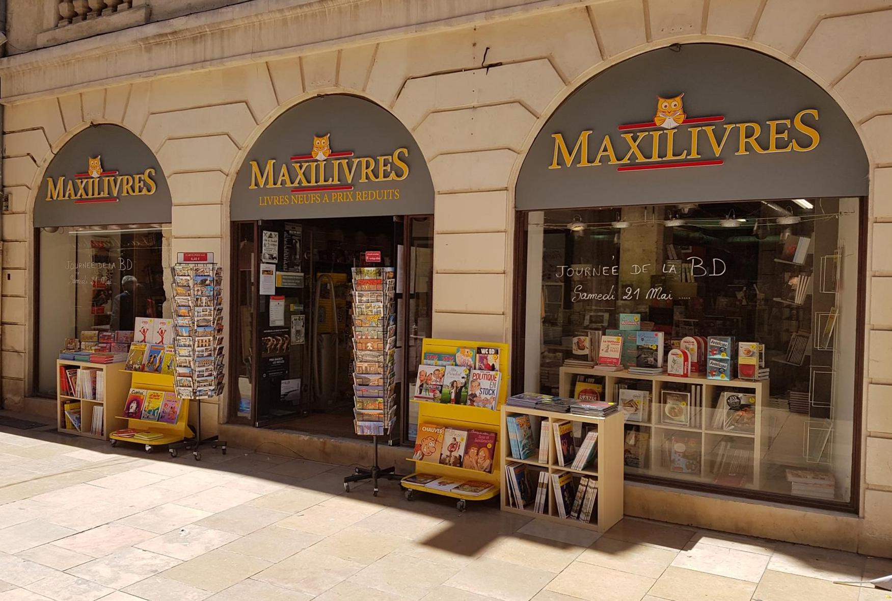 Maxilivres - nimes